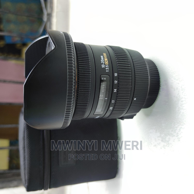 Sigma 10-20mm F/3.5 EX DC HSM ELD SLD Super Wide Lens Nikon   Accessories & Supplies for Electronics for sale in Kinondoni, Dar es Salaam, Tanzania