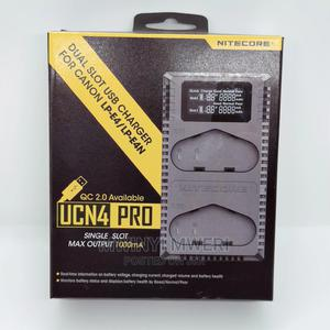 Nitecore Ucn4 PRO 2-slot USB Charger For Canon Lp-e4&Lp-e4n | Accessories & Supplies for Electronics for sale in Dar es Salaam, Kinondoni
