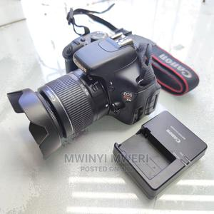 Canon EOS 600D /Rebel T3i DSLR Camera With EF-S 18-55mm Lens   Photo & Video Cameras for sale in Dar es Salaam, Kinondoni