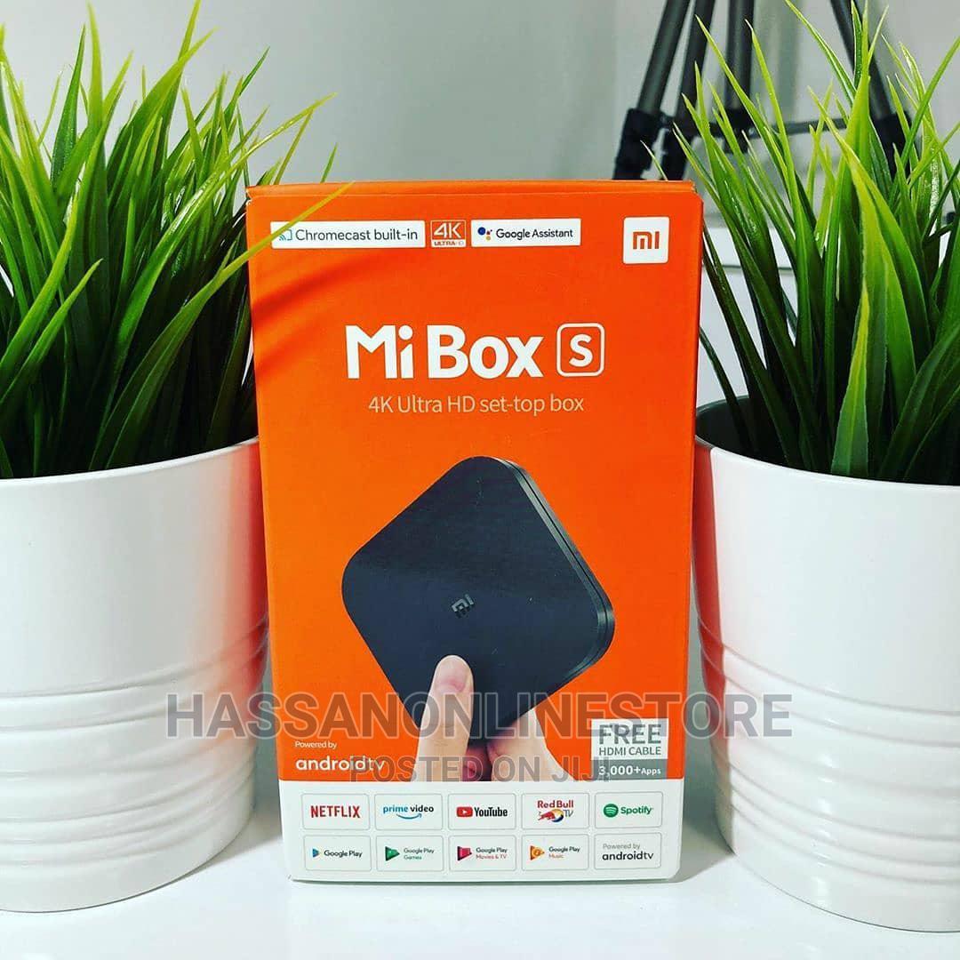 Mi Box S - 4K Ultra HD