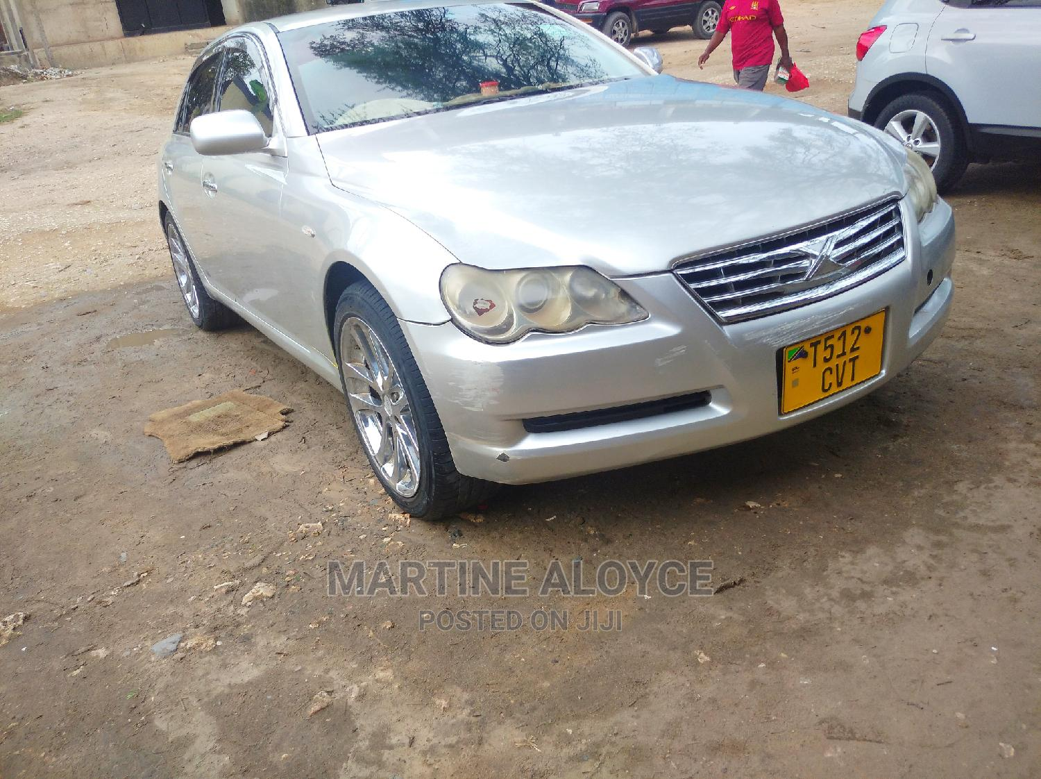 Archive: Toyota Mark X 2005 Silver