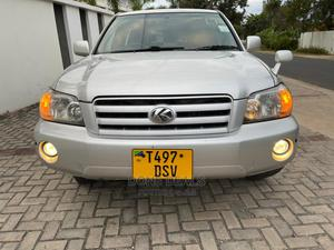 Toyota Kluger 2004 Silver   Cars for sale in Dar es Salaam, Kinondoni