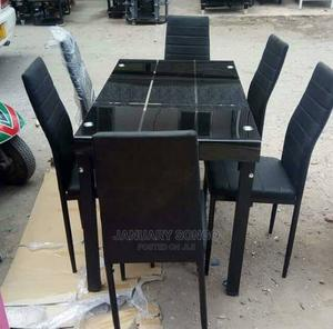 Dinning Table With Six Chairs   Furniture for sale in Dar es Salaam, Ilala