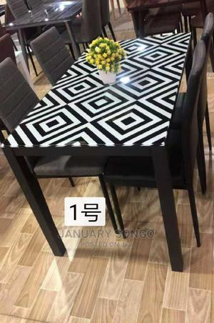 Dining Table With 4 Chairs | Furniture for sale in Dar es Salaam, Ilala