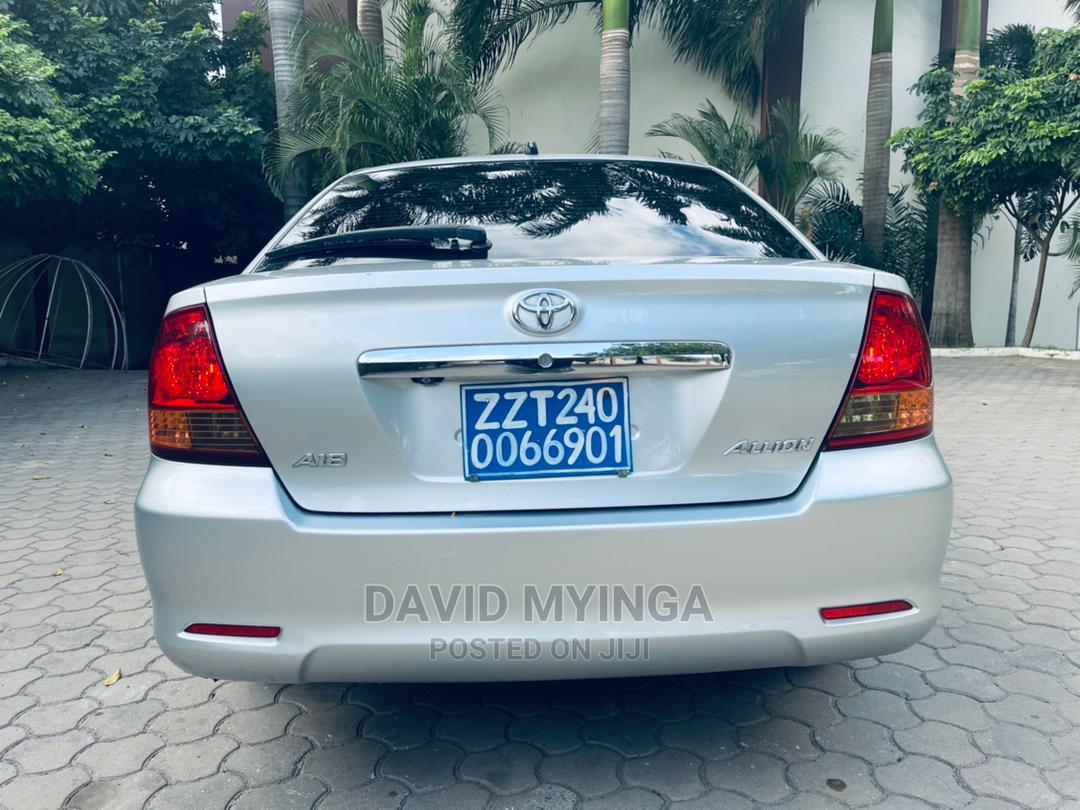 Toyota Allion 2004 Silver   Cars for sale in Kinondoni, Dar es Salaam, Tanzania