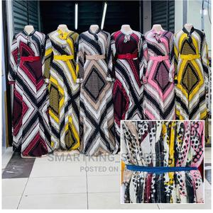 Women's Dresses With Belt.   Clothing for sale in Dar es Salaam, Kinondoni