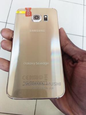 New Samsung Galaxy S6 edge 32 GB Gold | Mobile Phones for sale in Dodoma Region, Dodoma Rural