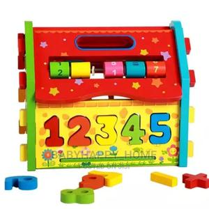 Wooden Mathematical House | Babies & Kids Accessories for sale in Dar es Salaam, Kinondoni