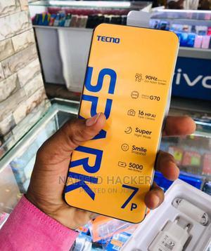 New Tecno Spark 7P 64 GB Black   Mobile Phones for sale in Dar es Salaam, Ilala