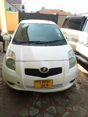 Toyota Vitz 2005 1.5 X White   Cars for sale in Dar es Salaam, Kinondoni