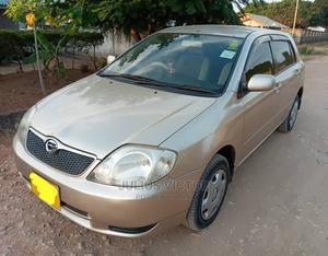 Toyota Corolla RunX 2001 Beige | Cars for sale in Dar es Salaam, Kinondoni