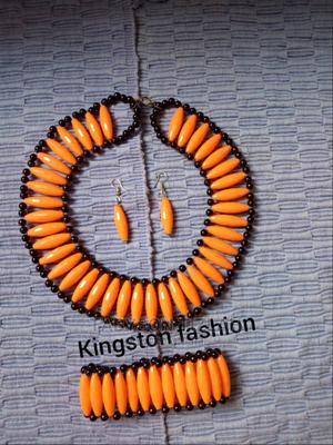 A Set of Necklace,Earings and a Bangle   Jewelry for sale in Mwanza Region, Ilemela