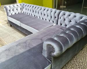 Chesterfield 4 Seaters L Shaped | Furniture for sale in Mbeya Region, Mbeya City