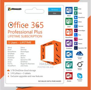Office 365 - 2021 - 2019 - Lifetime - Win - Mac - Android -   Software for sale in Dar es Salaam, Kinondoni