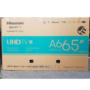 Hisense Smart Inch 65 4k   TV & DVD Equipment for sale in Dar es Salaam, Ilala