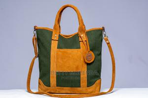 Milti Purpose Bag, Made With 50%Pure Leather and Conversa. | Bags for sale in Dar es Salaam, Kinondoni