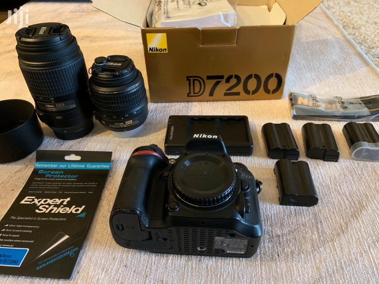 Archive: Nikon Camera D7200 With Lens 18+140