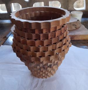 Wooden Vase | Home Accessories for sale in Dar es Salaam, Kinondoni