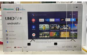 Hisense Smart 4k Inch 70 Android | TV & DVD Equipment for sale in Dar es Salaam, Ilala