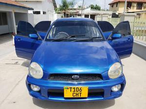 Subaru Impreza 2001 Blue | Cars for sale in Dar es Salaam, Kinondoni