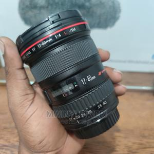 Canon EF 17-40mm F/4l USM Ultra Wide Angle Zoom Lens | Accessories & Supplies for Electronics for sale in Dar es Salaam, Kinondoni
