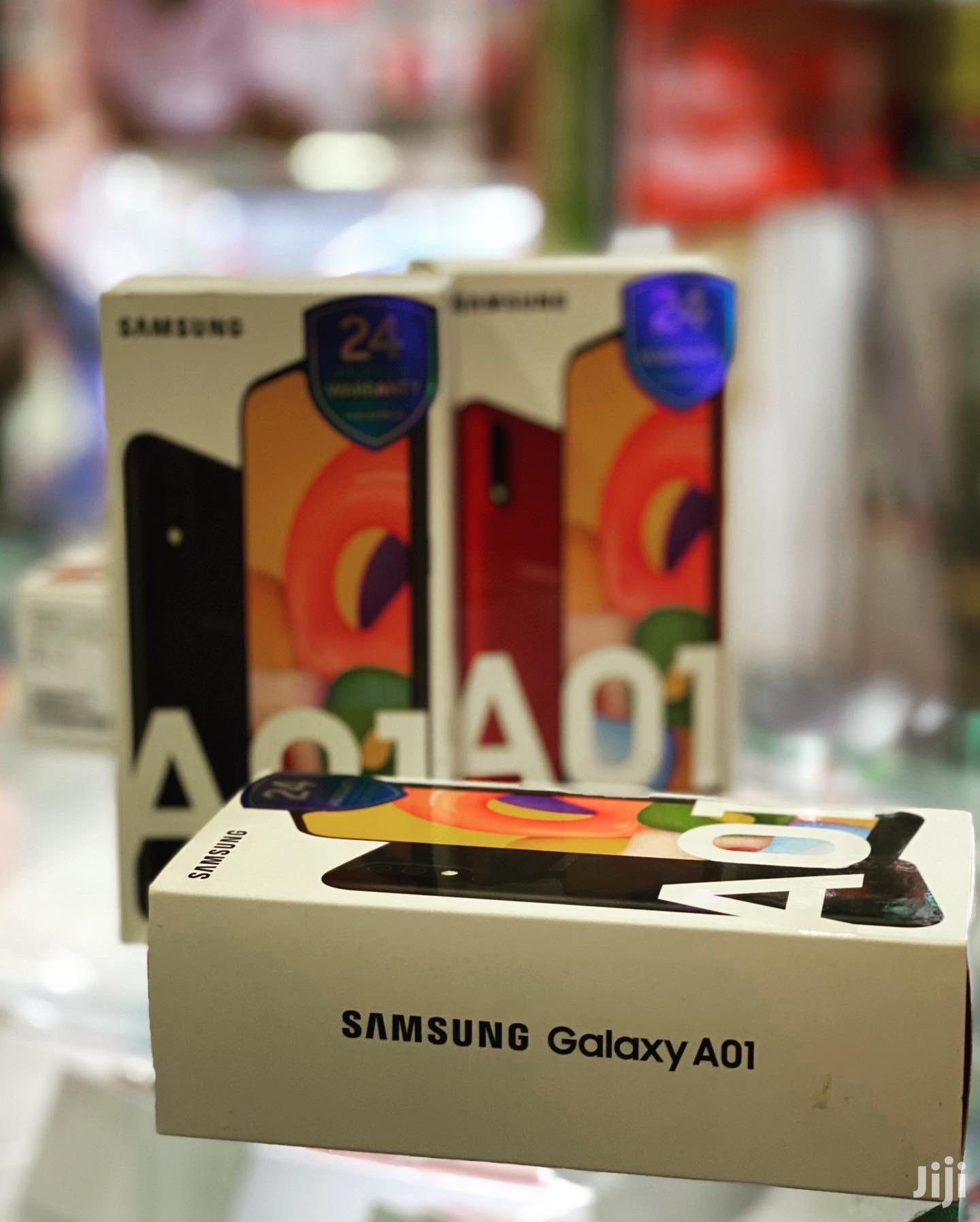 Archive: New Samsung Galaxy A01 16 GB Black