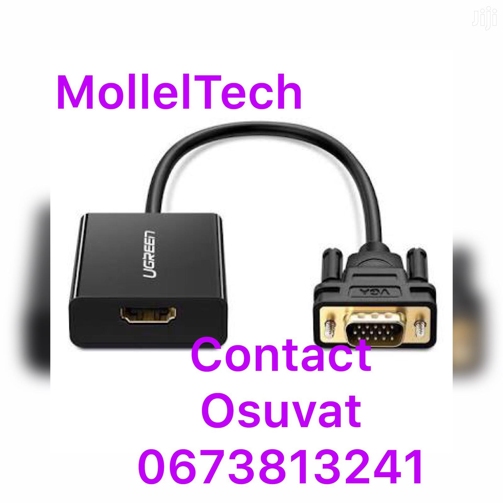 VGA to HDMI Converter Adaptor