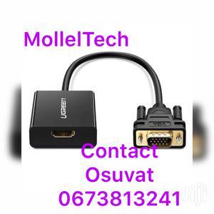 VGA to HDMI Converter Adaptor   Computer Accessories  for sale in Dar es Salaam, Ilala