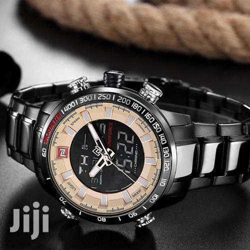 Original Men Double Display Watch | Watches for sale in Ilala, Dar es Salaam, Tanzania