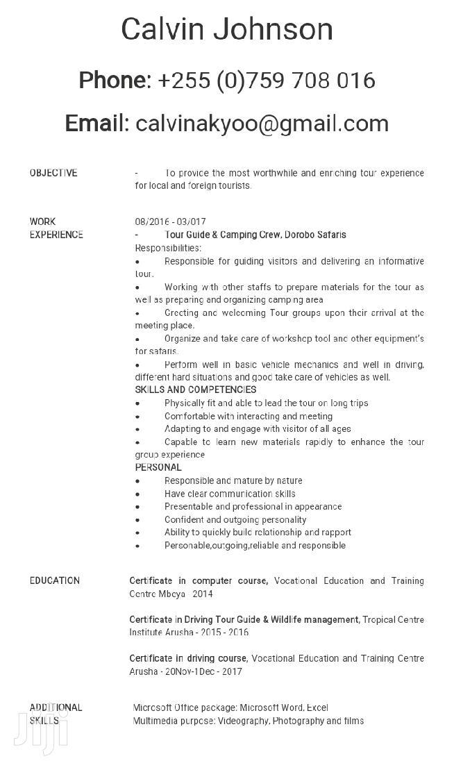 Driver CV