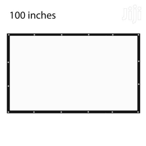 Archive: Foldable Projector Screen 100 Inches