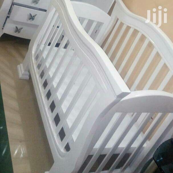 Baby's Bed of 0 to 3 Yrs Old and Kabati | Children's Furniture for sale in Kinondoni, Dar es Salaam, Tanzania