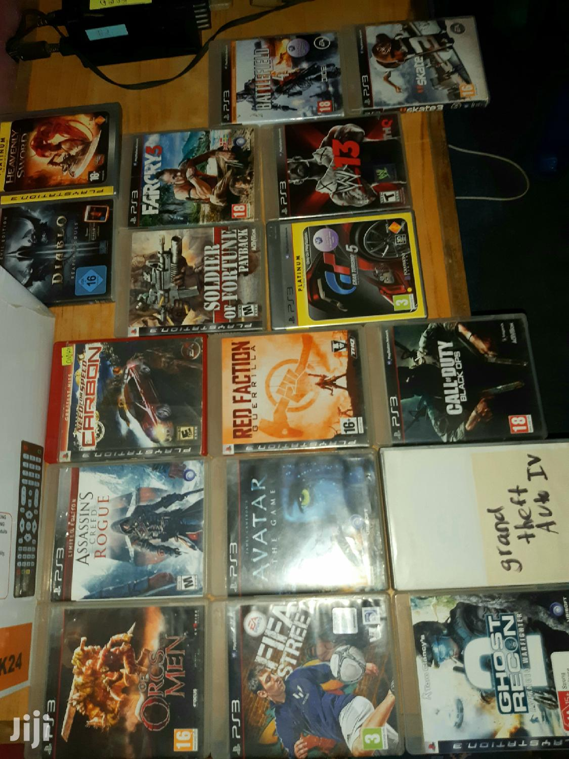 Archive: Ps3 And Ps4 Cds
