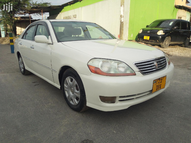 Toyota Mark II 2004 White   Cars for sale in Kinondoni, Dar es Salaam, Tanzania