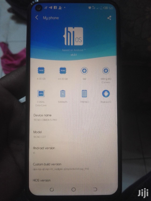 New Tecno Camon 15 64 GB Blue