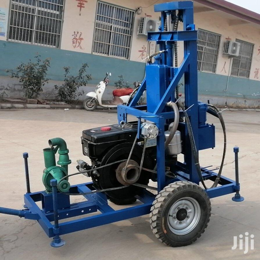 Archive: Portable Well Drilling Machine