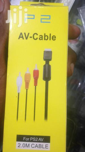 PS2 Playstation 2 AV Video Cable | Accessories & Supplies for Electronics for sale in Dar es Salaam, Ilala