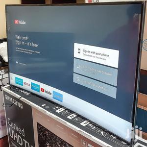 "Samsung 55"" Smart Ultra HD 4K Curved TV | TV & DVD Equipment for sale in Dar es Salaam, Kinondoni"