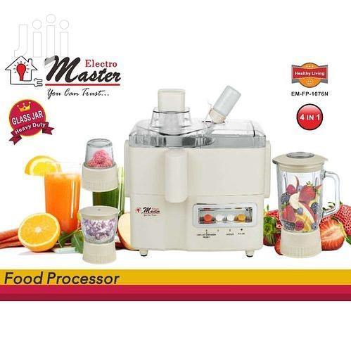 Electro Master Food Processor