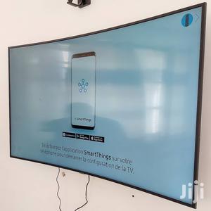 "Samsung 65"" Smart Ultra HD 4K Curved TV | TV & DVD Equipment for sale in Dar es Salaam, Kinondoni"