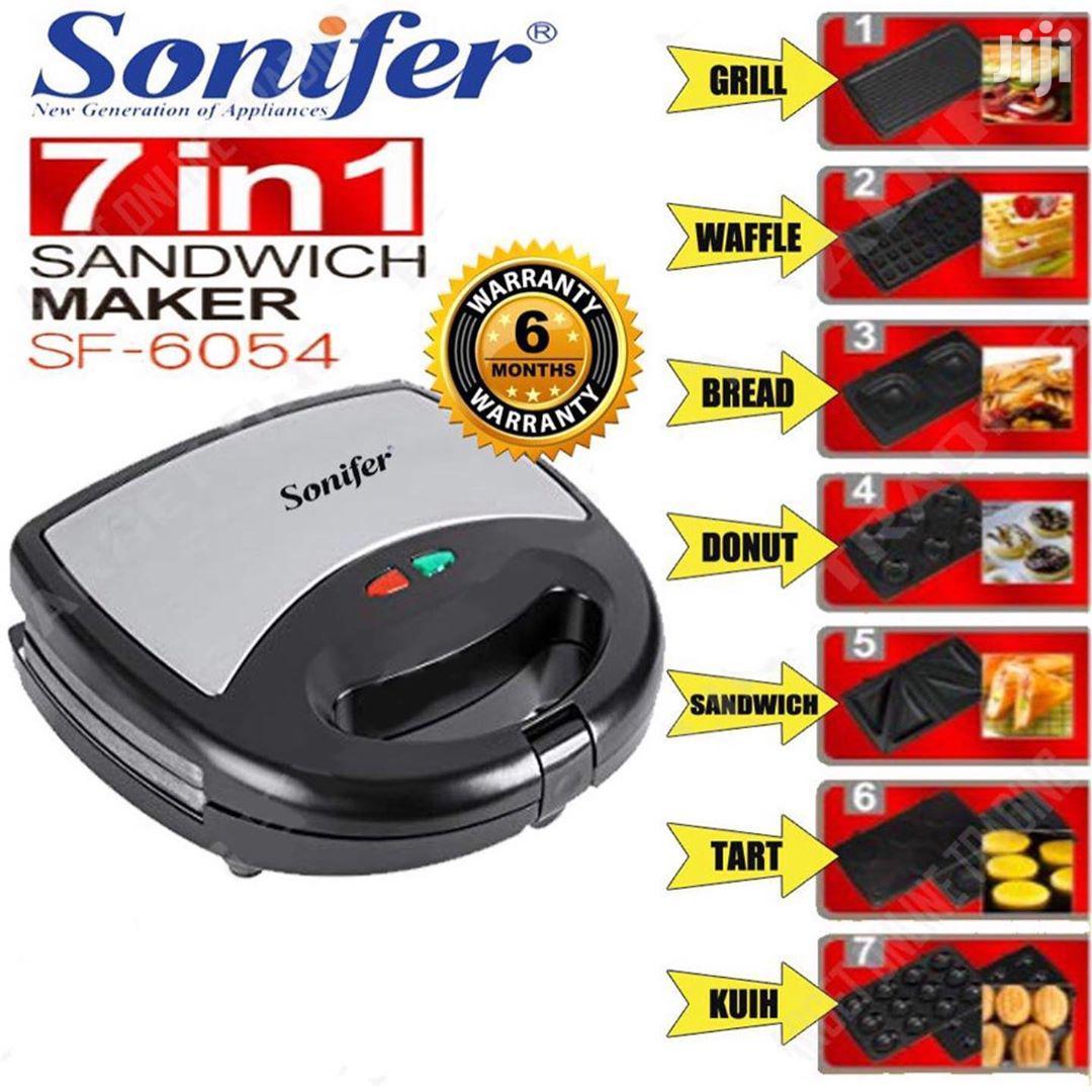 Sonifer 7 In 1 Sandwich Maker | Kitchen Appliances for sale in Ilala, Dar es Salaam, Tanzania
