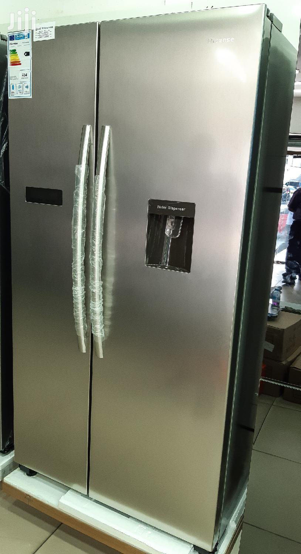 Hisense Side By Side Refrigerator 562L