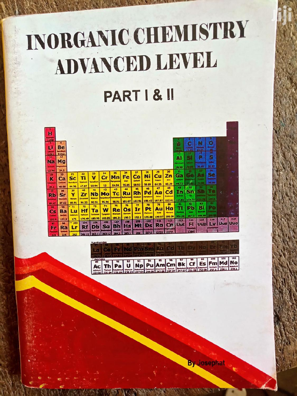 Advanced Level Inorganic Chemistry Part I&Ii