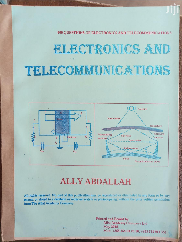 Archive: Electronics & Telecommunications