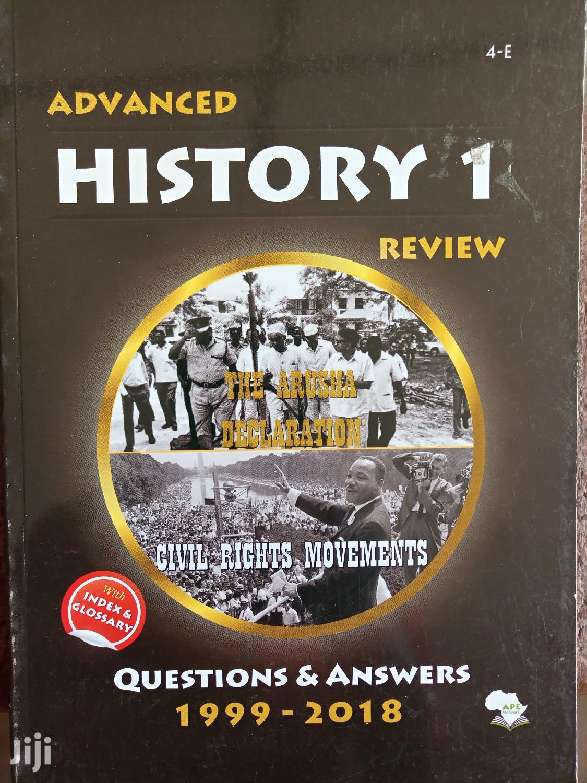 Advanced Level History Review Ya Necta