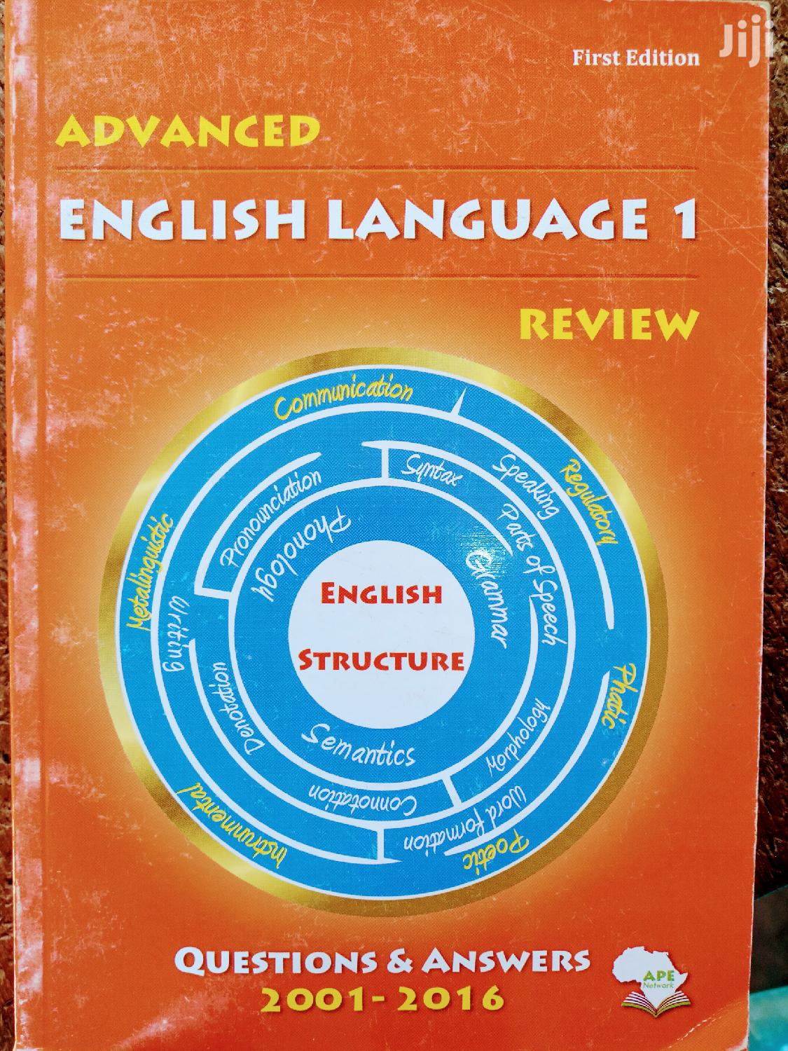 Archive: Advanced Level Language Review Ya Necta