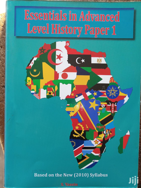 Archive: Advanced Level History One Notes - SALEHE YASSIN