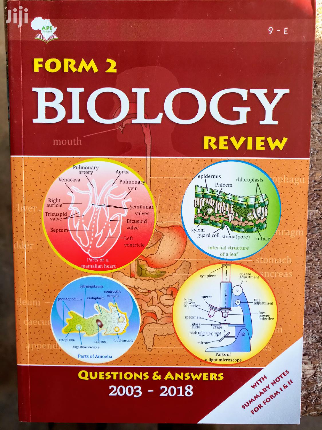 Form Two Biology Review