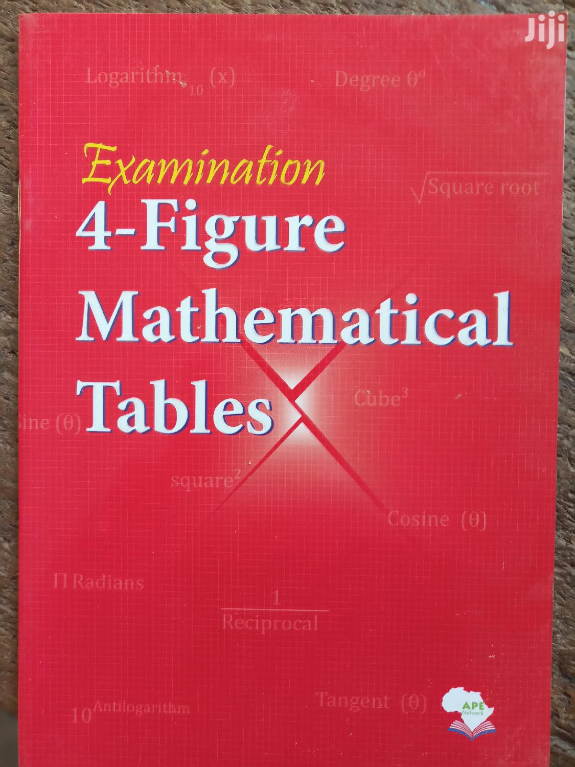 Four Figure(Mathematical Table)