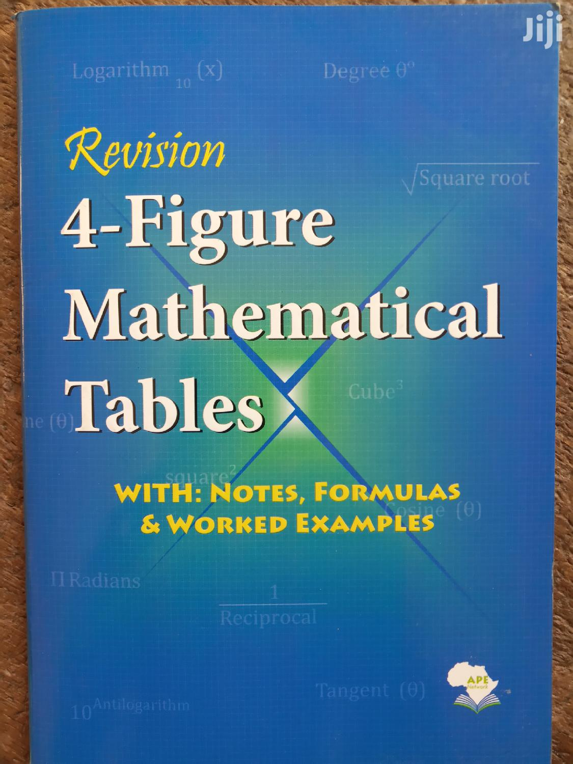Four Figure (Mathematical Table)